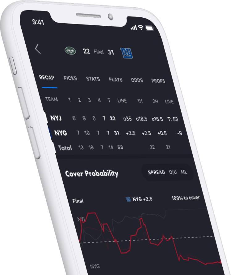 UFC betting app